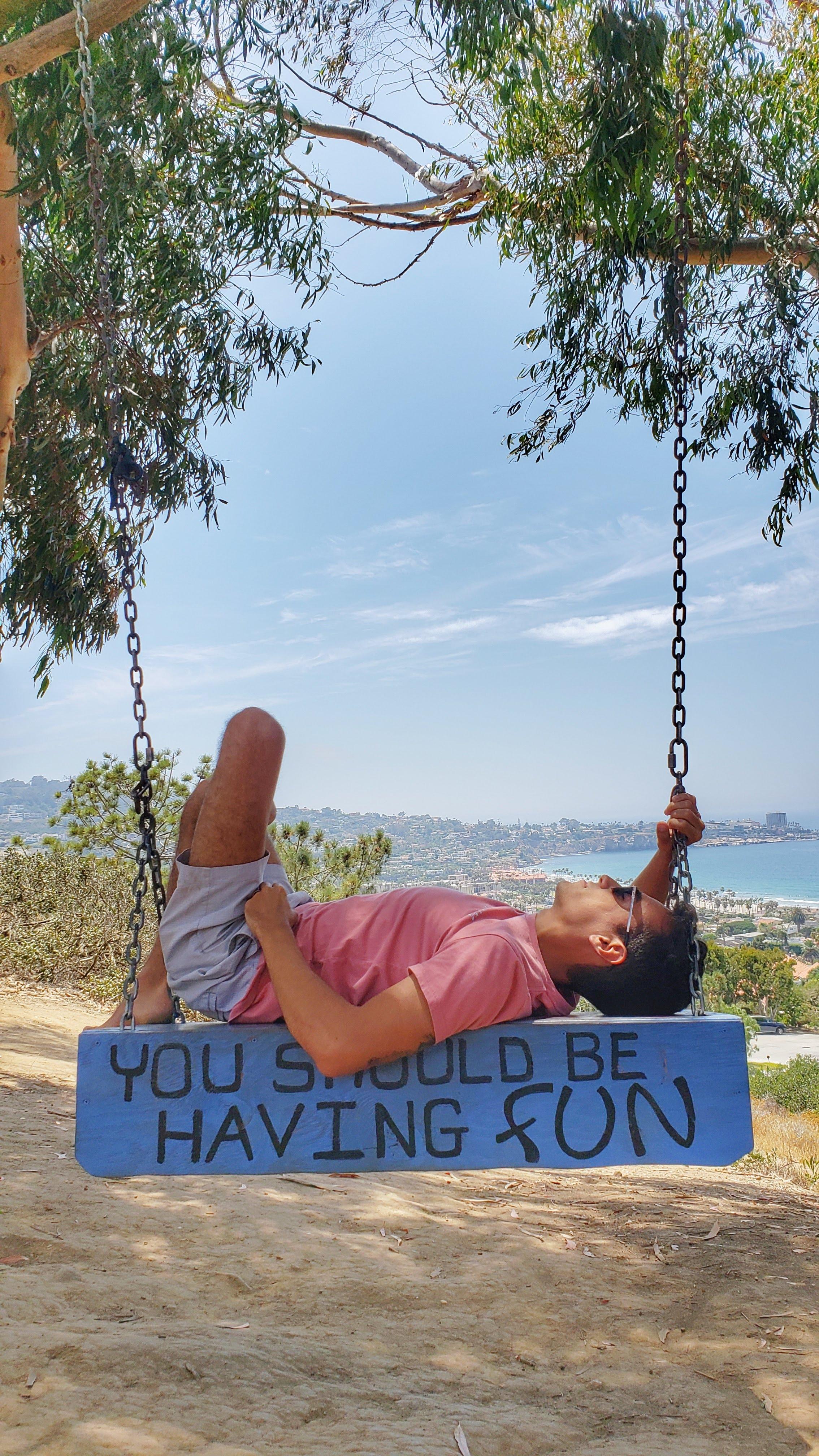 Secret swings La jolla